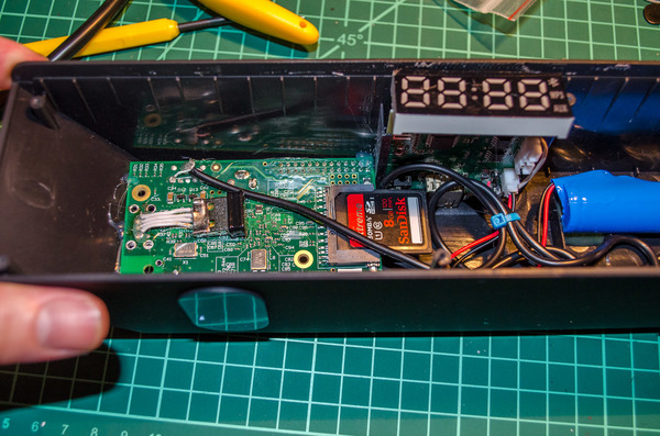 Fitting a RasPi into a cheap set of bluetooth speakers